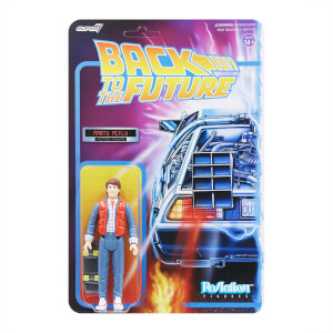 Super7 Back To The Future Part II ReAction Figure - Marty McFly