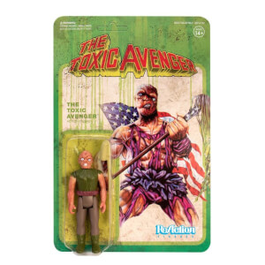 Super7 Toxic Avenger ReAction Figure - Authentic Movie Variant Action Figure