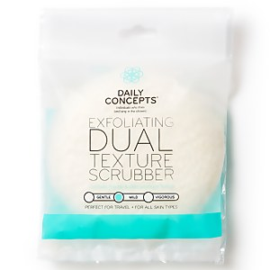 Daily Concept Exfoliating Dual Texture Scrubber