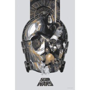 Star Wars: A New Hope 'The Fourth' Lithograph by Devin Schoeffler