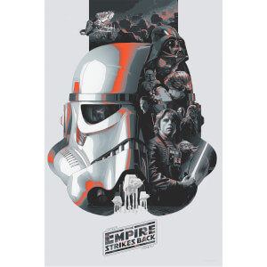 Star Wars: Empire Strikes Bank 'The Fifth' Lithograph by Devin Schoeffler