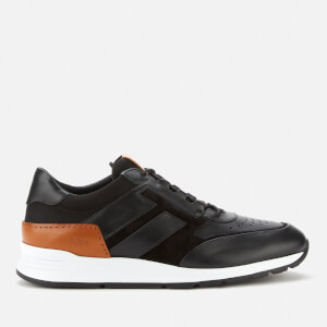 Tod's Men's Leather Running Style Trainers - Black