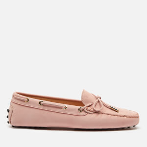Tod's Women's Heaven Suede Driving Shoes - Angel