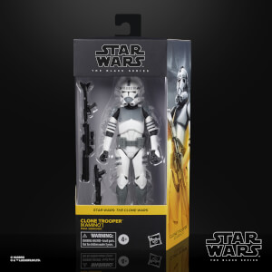 Star Wars The Black Series, figurine de collection de soldat clone (Kamino)
