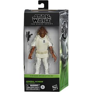 Star Wars The Black Series, figurine de collection de amiral Ackbar