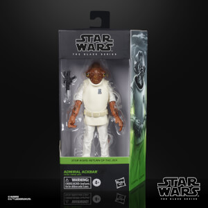 Hasbro Star Wars Black Series Episode 6 Admiral Ackbar 6-Inch Scale Figure