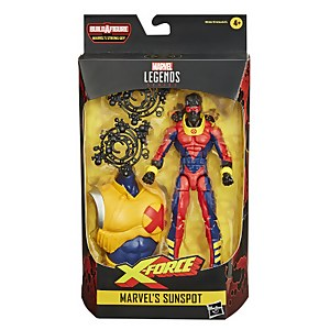 Figura Sunspot - Hasbro Marvel Legends Deadpool Collection