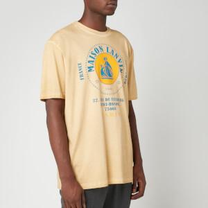 Lanvin Men's Maison Lanvin Logo T-Shirt - Beige