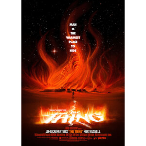 The Thing Lithograph by Patrick Connan (Red Variant)