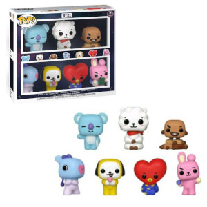 BT21 7-Pack EXC Pop! Vinyl Figure