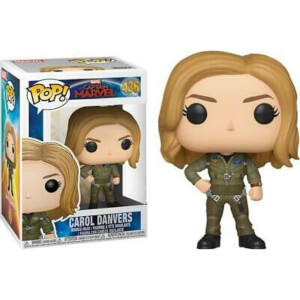 Captain Marvel Carol Denvers Flight Suit EXC Pop! Vinyl Figure