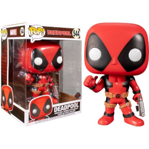Marvel Deadpool Thumbs Up Red 10-Inch EXC Pop! Vinyl Figure