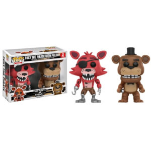 Five Nights at Freddys Freddy & Foxy EXC 2-Pack Funko Pop! Vinyl