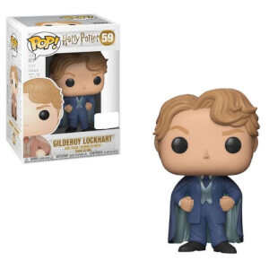 Harry Potter Gilderoy Lockhart with Blue Suit EXC Funko Pop! Vinyl