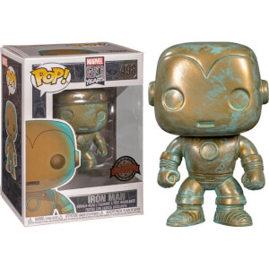 Marvel 80th Iron Man Patina EXC Pop! Vinyl Figure