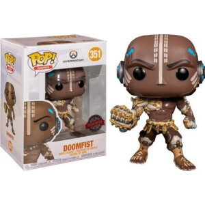 Overwatch Doomfist with Leopard Skin EXC Pop! Vinyl Figure