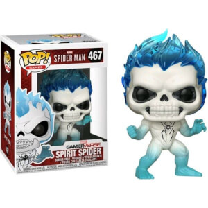 Spider-Man Game Spirit Spider EXC Figura Pop! Vinyl