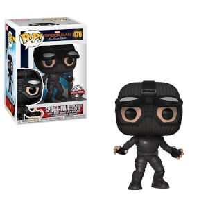 Marvel Spider-Man Far From Home Stealth Suit Goggles Up EXC Pop! Vinyl Figur