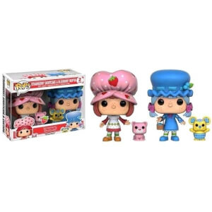 Strawberry Shortcake & Blueberry Muffin Scented 2-Pack EXC Pop! Vinyl Figures