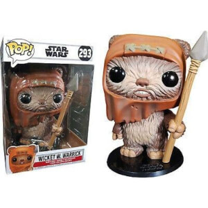 Star Wars Wicket 10-Inch (25 cm) EXC Figura Pop! Vinyl