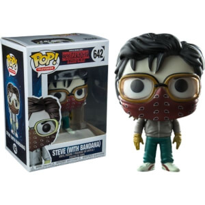 Stranger Things Steve With Bandana EXC Pop! Vinyl Figure
