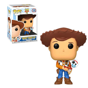 Toy Story 4 - Woody con Forky EXC Funko Pop! Vinyl
