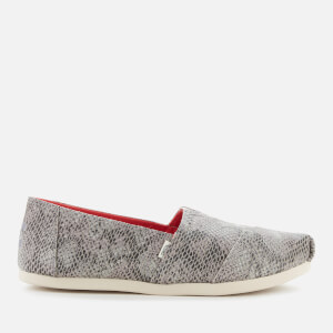 TOMS Women's Alpargata Slip-On Pumps - Taupe