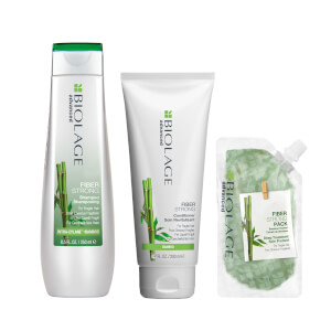 Biolage Advanced FiberStrong Strengthening Trio Set for Fragile Hair