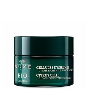 NUXE Organic Glow Rich Moisturising Cream 50ml