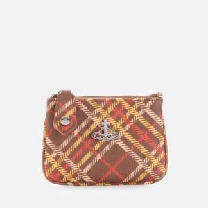 Vivienne Westwood Women's Derby Coin Purse - Brown/Tartan