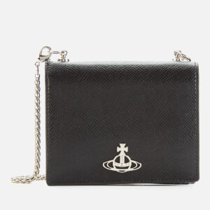 Vivienne Westwood Women's Sofia Card Case with Chain - Black