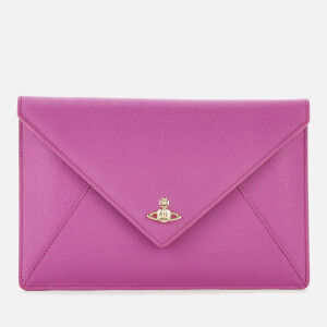 Vivienne Westwood Women's Victoria Envelope Clutch - Purple