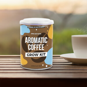 Aromatic Coffee Grow Tin