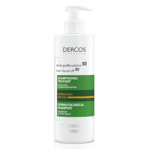VICHY Dercos Anti-Dandruff Shampoo for Dry Hair 390ml