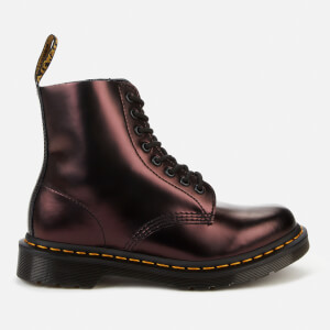 Dr. Martens Women's 1460 Pascal Chroma 8-Eye Boots - Red
