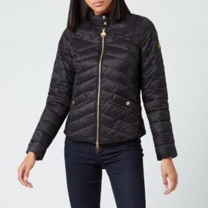 Barbour International Women's Interceptor Quilted Jacket - Black
