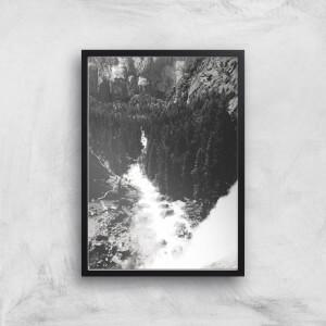 Yosemite Crashing Waves Giclee Art Print