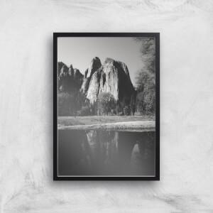 Yosemite Peak Giclee Art Print