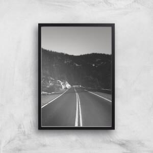 Yosemite Drive Giclee Art Print