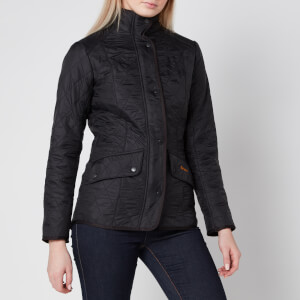 Barbour Women's Cavalry Polarquilt Jacket - Black