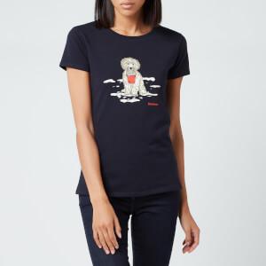 Barbour Women's Beach Dog T-Shirt - Navy