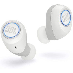 JBL Free X Truly Wireless In-Ear Headphones - White
