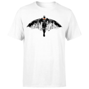 T-Shirt Batman Begins The City Belongs To Me Homme – Blanc