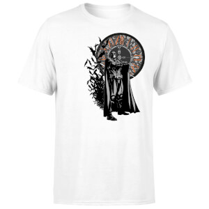 T-Shirt Batman Begins Face Your Fear Homme - Blanc