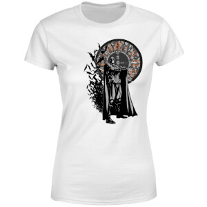 T-Shirt Batman Begins Face Your Fear Femme - Blanc