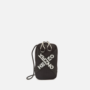 KENZO Men's Sport Phoneholder on Strap - Black