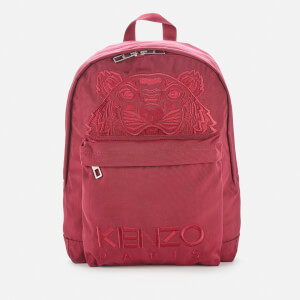 KENZO Men's Kampus Canvas Backpack - Magenta