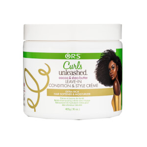 ORS Curls Unleashed Coconut and Shea Butter Leave-In Conditioner 454g