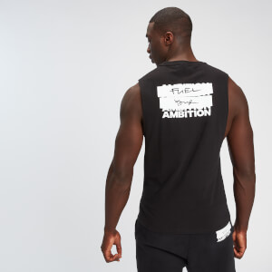 MP Men's Fuel Your Ambition Print Tank - Black