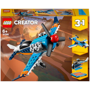 LEGO Creator: 3in1 Propeller Plane Building Set (31099)